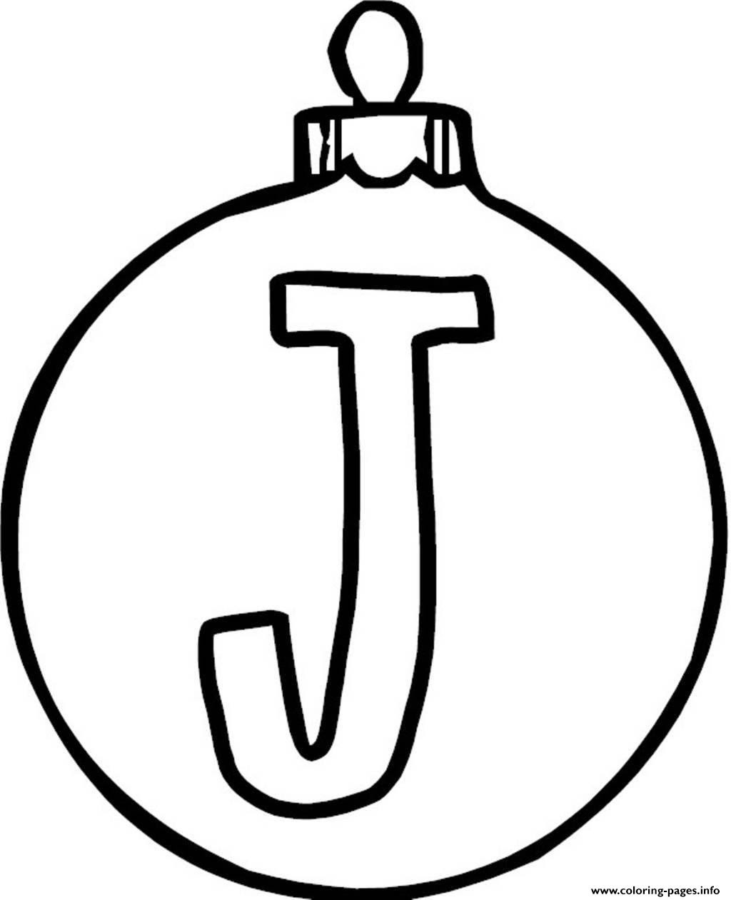 Christmas Ornament Coloring Pages Print at GetDrawings ...