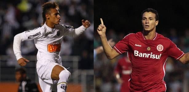Neymar, do Santos, e Leandro Damião, do Inter, são exemplos do novo momento