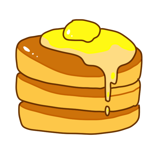 ホットケーキのイラスト かわいいフリー素材が無料のイラストレイン
