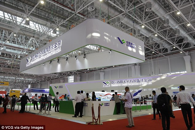 The drone was made public for the first time at a military air show in the southern city of Zhuhai