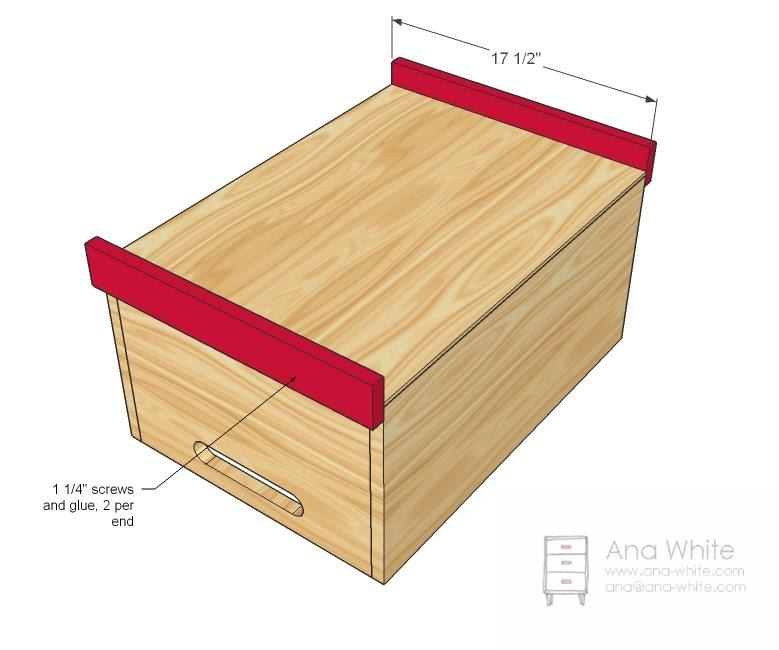 Easy Diy Toy Box Plans Diy Unixcode