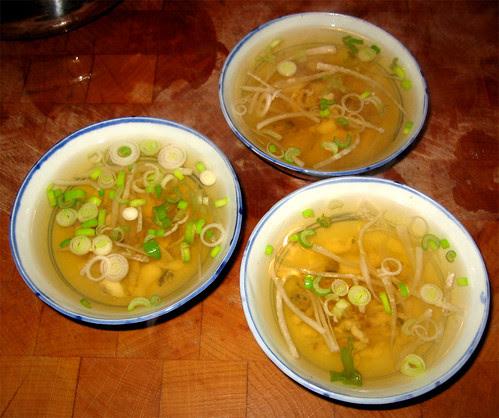 Zuppa di pesce giapponese (Osuimono) by fugzu