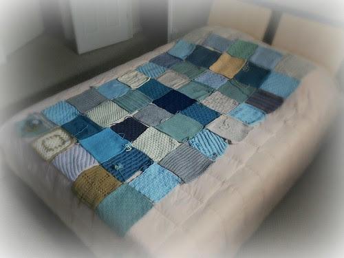 Bertie's Blanket layout