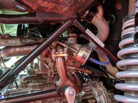 honda talon  turbo kit leaked jackson racing