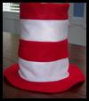 Felt Dr. Seuss Hat Craft for Kids