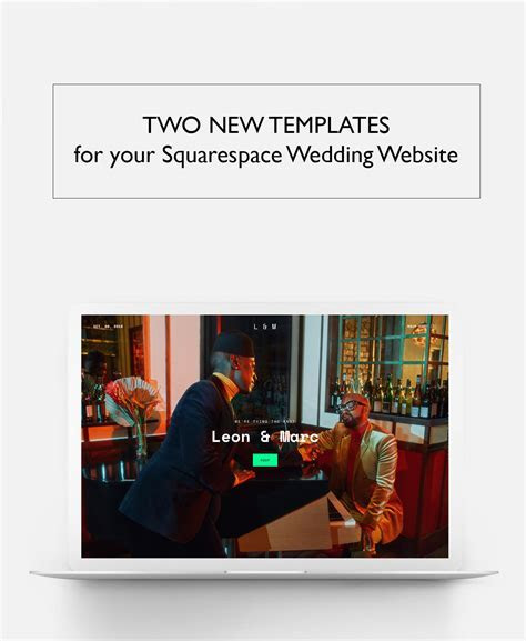 Show   Tell Your Love Story with new Website Templates
