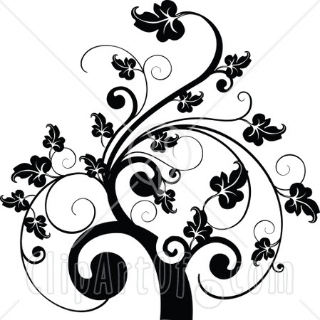 Simple Black Swirl Design Pictures Online Images Collection Clip