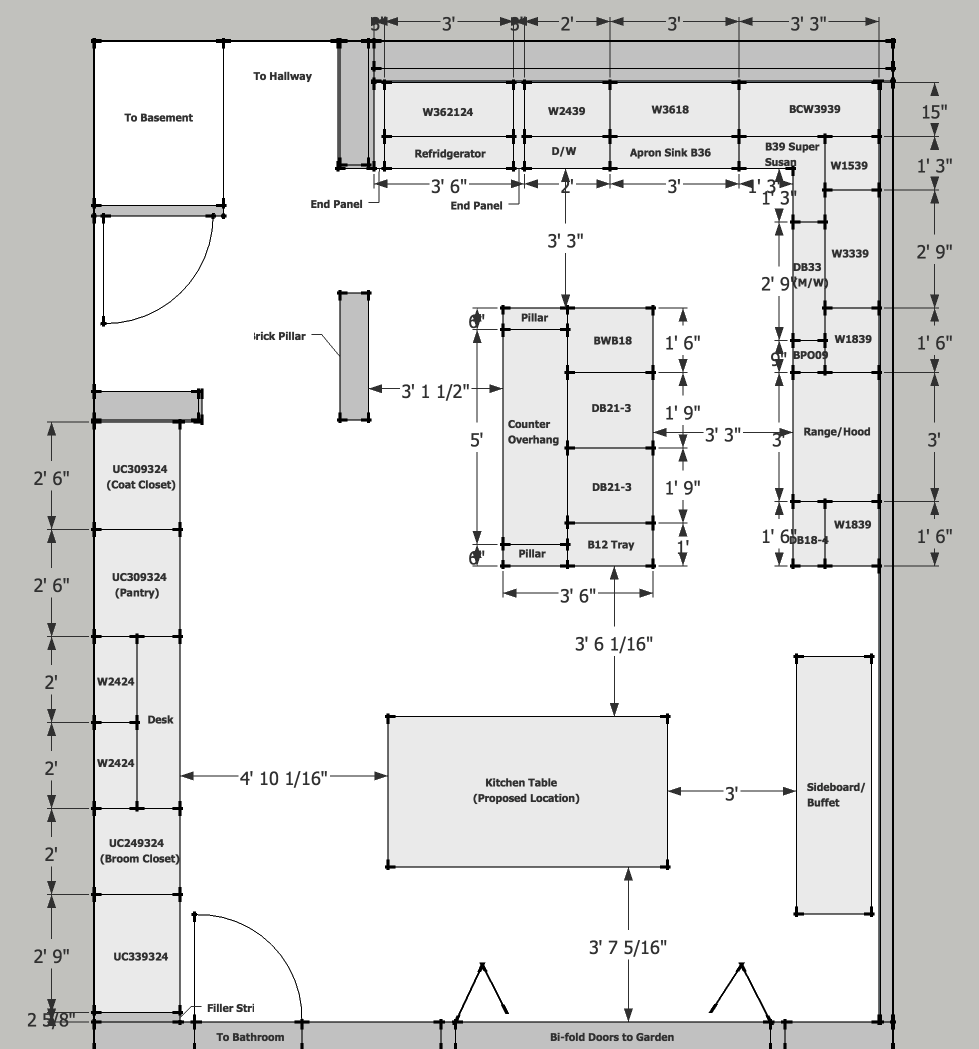 Brownstone Kitchen Layout: Feedback Requested - Kitchens Forum ...