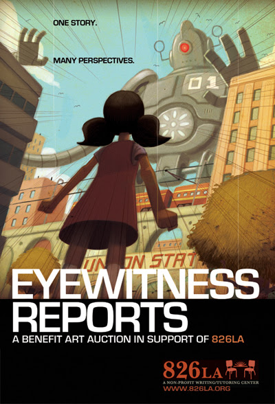 EYEWITNESS REPORTS Auction for 826LA