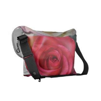 Closeup Roses Messenger Bag rickshawmessengerbag