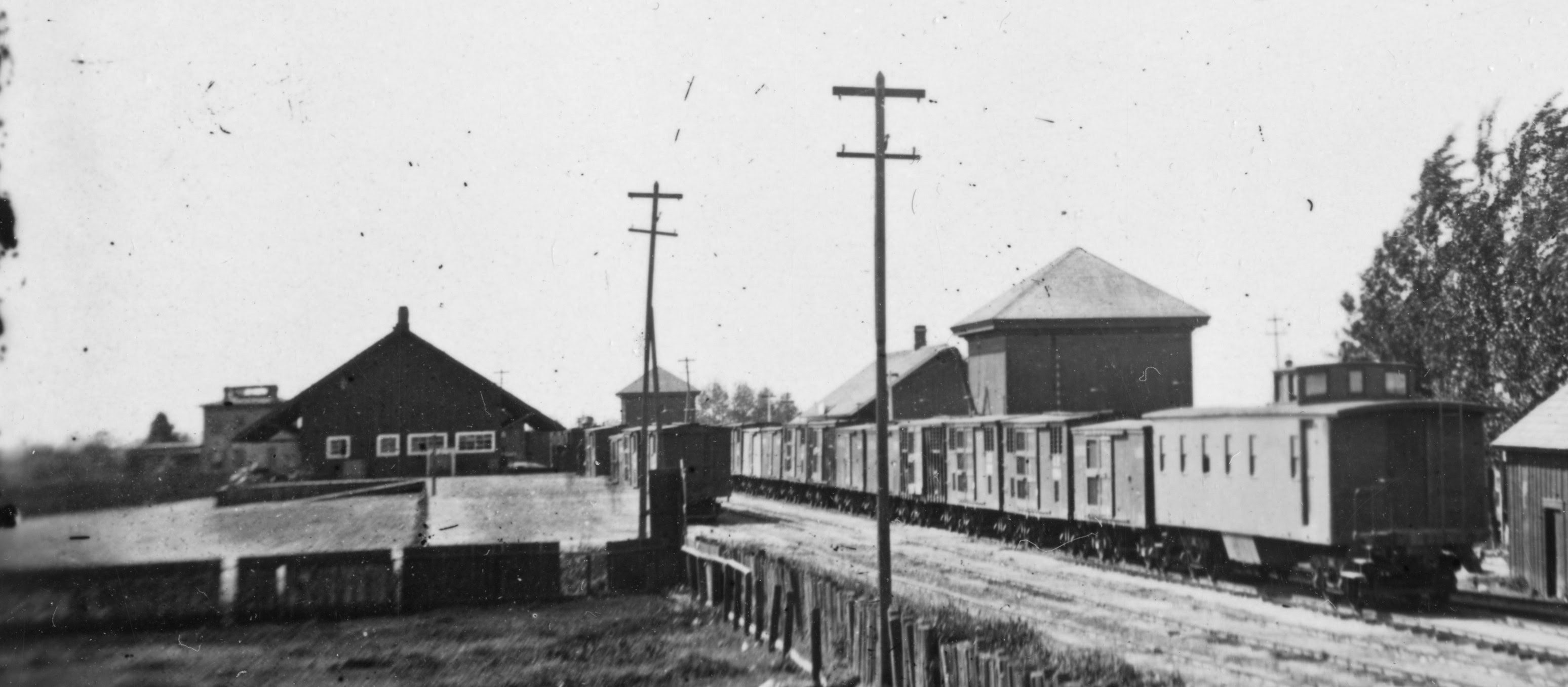 Spooner Train at Stockton Depot