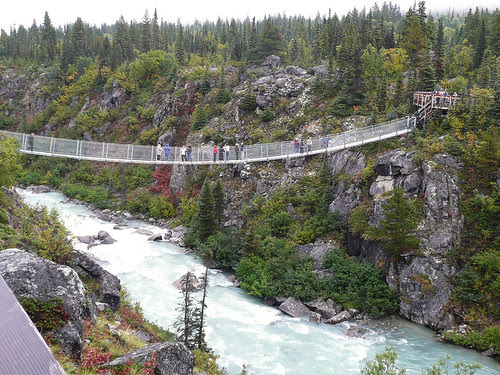 William Morris Suspension Bridge, Alaska