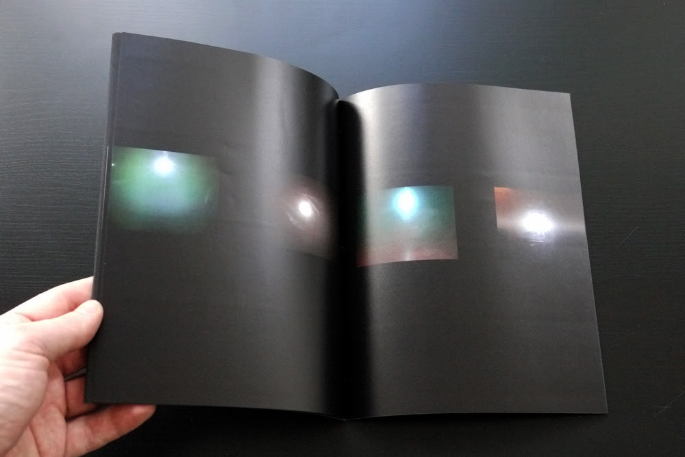 Umbrico, Penelope. flashes that have the character of ghosts. Part of Visible Spectrum, published in conjunction with Conveyor Editions, Jersey City, NJ. 2014, 32 pages.