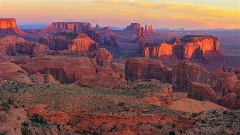 Sunrise At Hunts Mesa Viewpoint   Monument Valley Navajo