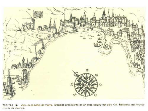 Resultado de imagen de puerto de Palma de mallorca en el XVII
