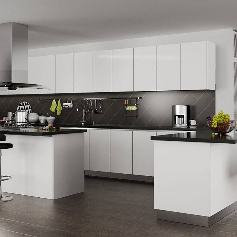 Oppein Design Modern White High Gloss Kitchen Cabinet View Modern Kitchen Cabinet Design Oppein Product Details From Oppein Home Group Inc On Alibaba Com