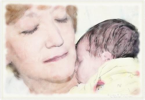 Grandma and Smudge