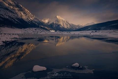 Medicine lake by DAVID MARTIN CASTAN