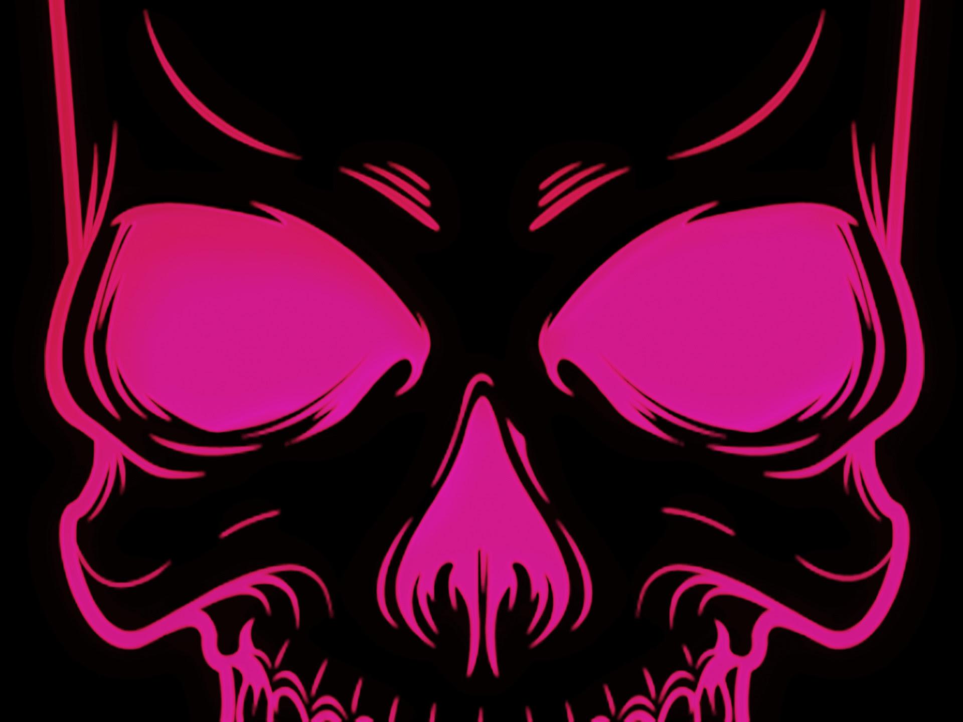 Pink Skull Wallpaper 50 Images