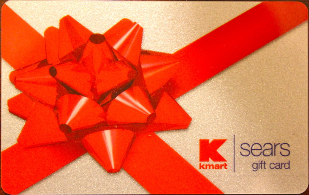 Kmart Sears Gift Card