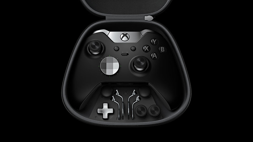 Elite Wireless Controller configuration options