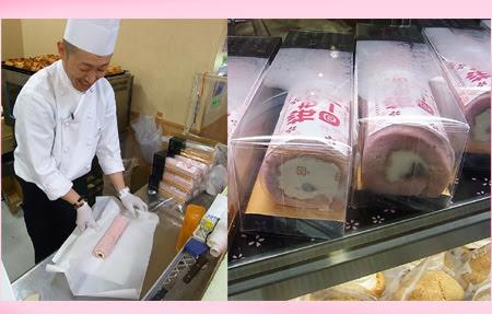 2013,2013デパート,百貨店,松菱,北海道物産展,洋菓子アリスのロールケーキ,桜のロールケーキ,もちもちロールケーキ