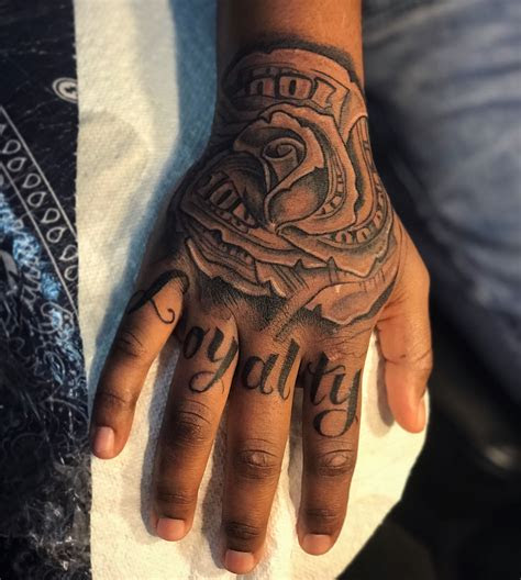 loyalty money rose tatt atrokmaticink loyalty tattoo
