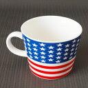 世界の国旗がマグカップに。フラッグマグ「アメリカ(USA)」<br />【国旗マグカップ】 ワールド フラッグマグ 【アメリカ(USA)】 【シュガーランド】 【10P24Jan13】 【RCP】