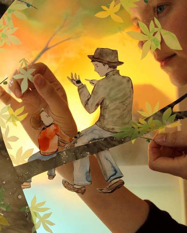 Όταν η χαρτοκοπτική γίνεται μαγευτική 3D τέχνη (9)