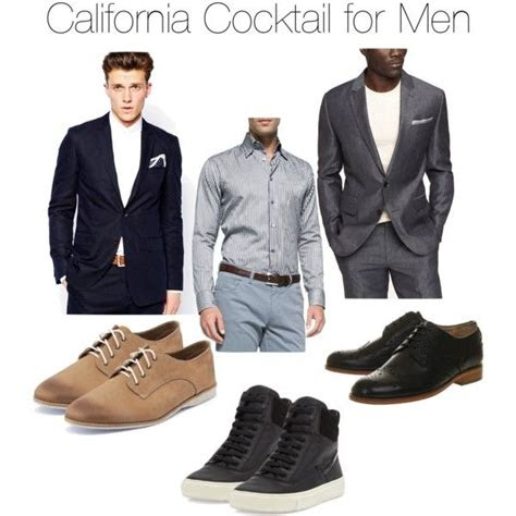 california cocktail  men wedding guest attire