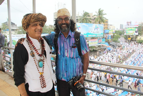 Satish Malavade And Me by firoze shakir photographerno1
