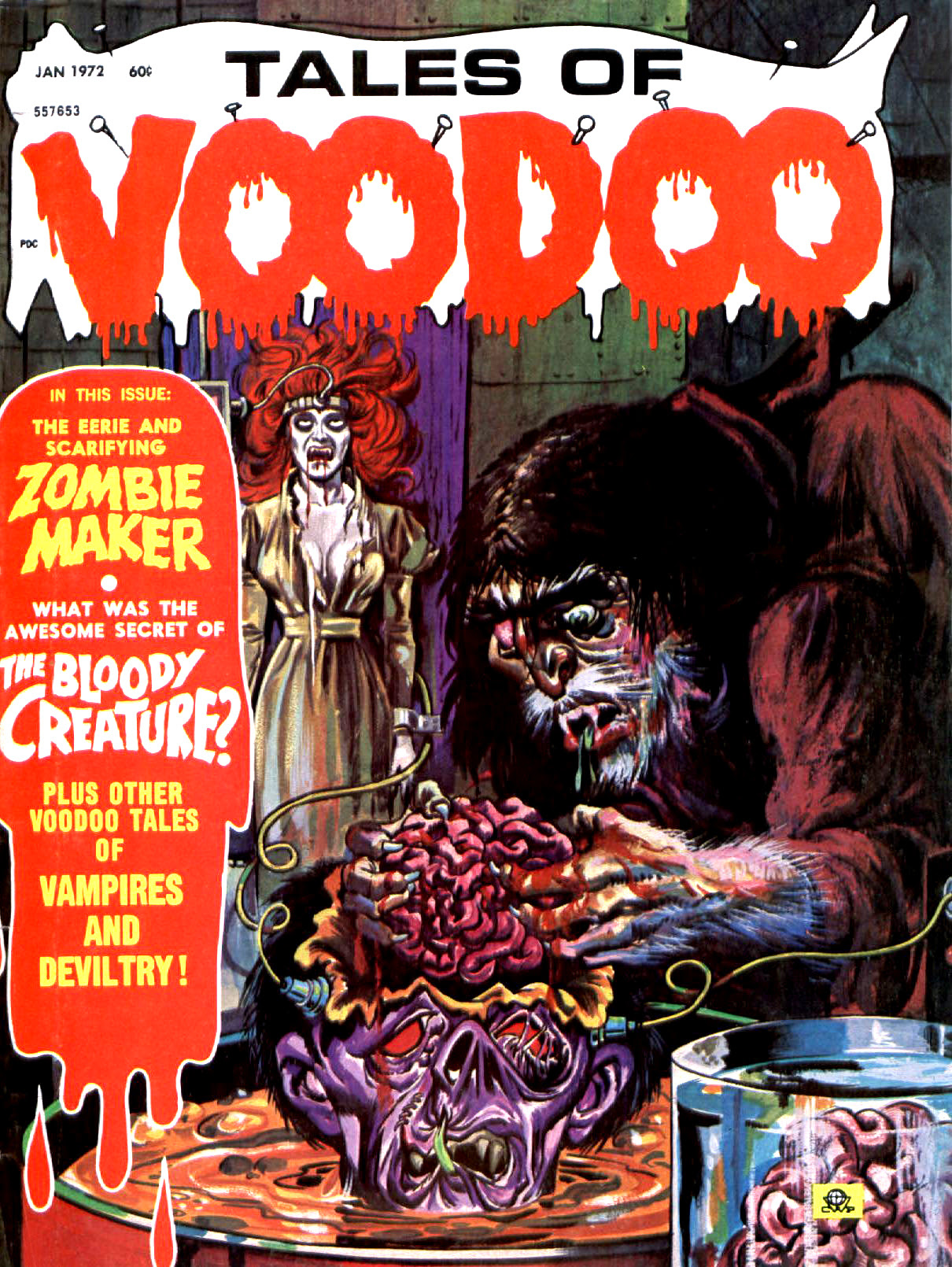 Tales of Voodoo Vol. 5 #1 (Eerie Publications 1972)