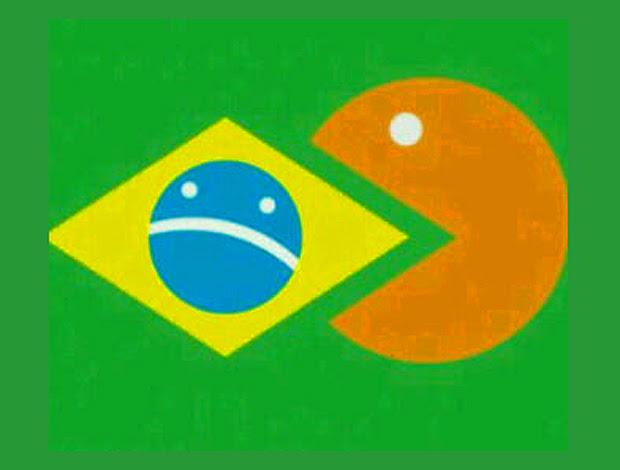 Reprodução twitter halanda brasil pacman