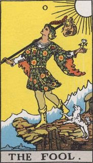 The Fool is a powerful Tarot card because its possibilities all start in nothingness and reach into infinity.