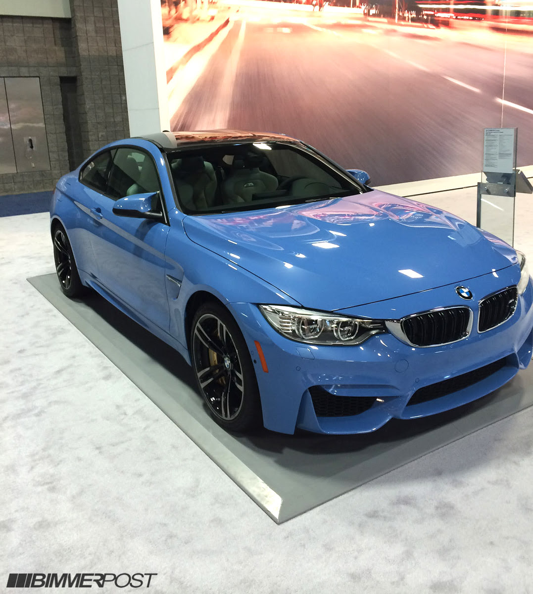 Bmw M4 Light Blue