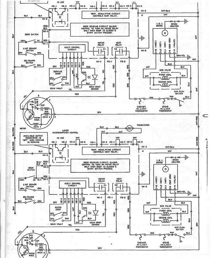 Wiring Diagram Speed Queen Dryer