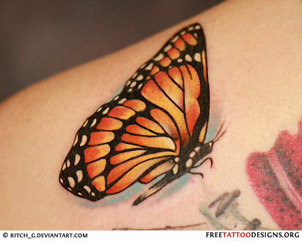 60 Butterfly Tattoos Feminine And Tribal Butterfly Tattoo Designs