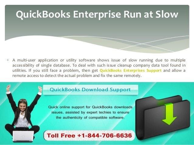 Quickbooks Online Slow Support Number +1-877-249-9444