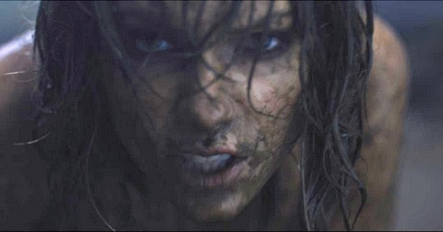 Coming soon: On Wednesday, Taylor Swift, 26, tweeted a screen grab from her new music video, Out of the Woods