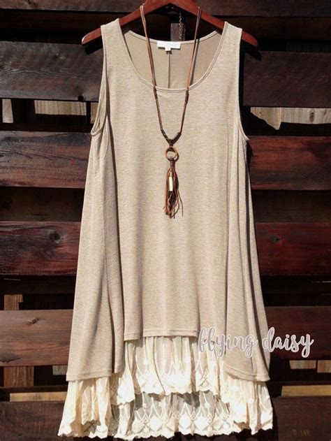 lace tunic ideas  pinterest long tops dressy