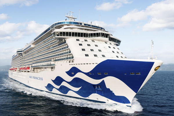 Princess Cruises orders two low-emission ships