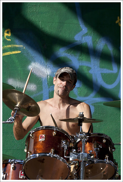 Drummer In The Sun