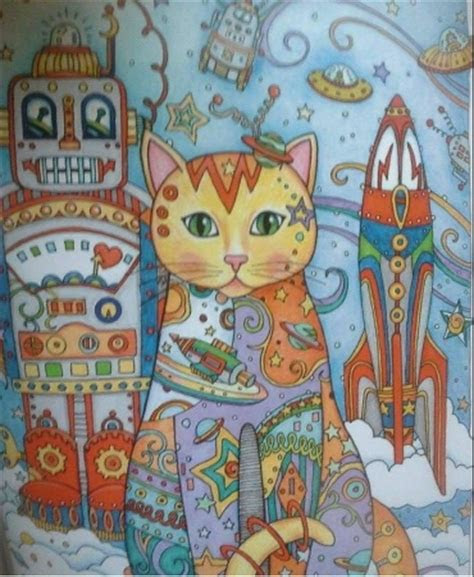 creative haven creative cats coloring book adult