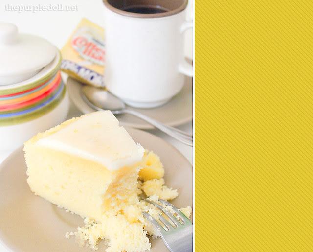 Calamansi Tea Cake from Lia's Cakes