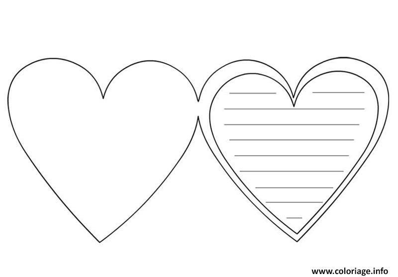 Coloriage Coeur Saint Valentin 113 Jecoloriecom