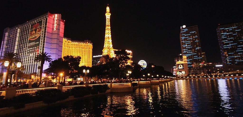Las Vegas Night Skyline