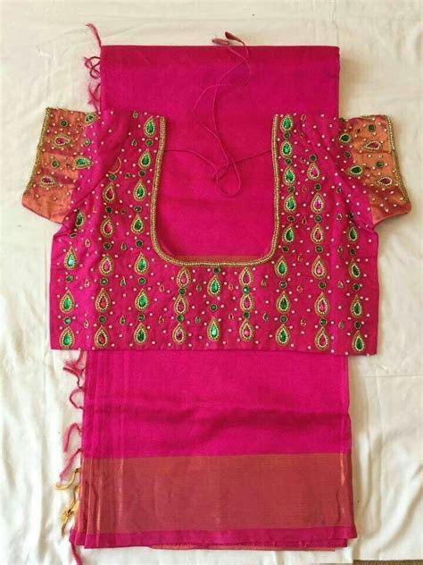 Best 20  Bridal Blouse Designs ideas on Pinterest   Blouse