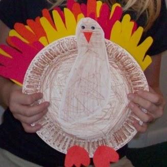 Preschool crafts for kids thanksgiving turkey handprint for Pre k turkey crafts