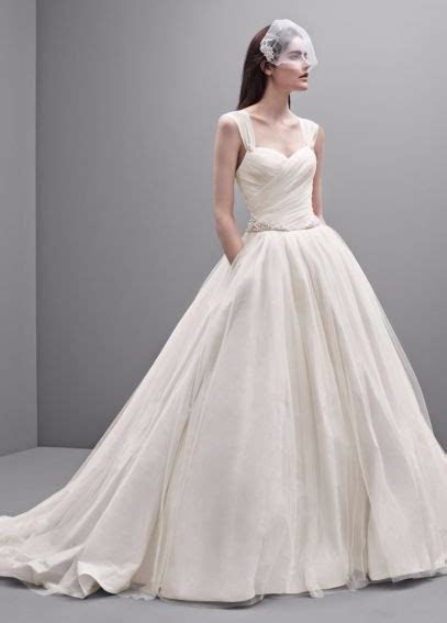 Vera Wang Taffeta and Tulle Wedding Dress Preowned Wedding
