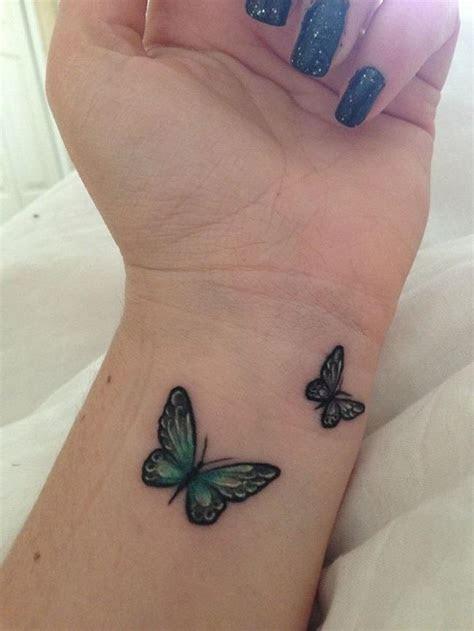 wrist butterfly tattoo ideas wrong